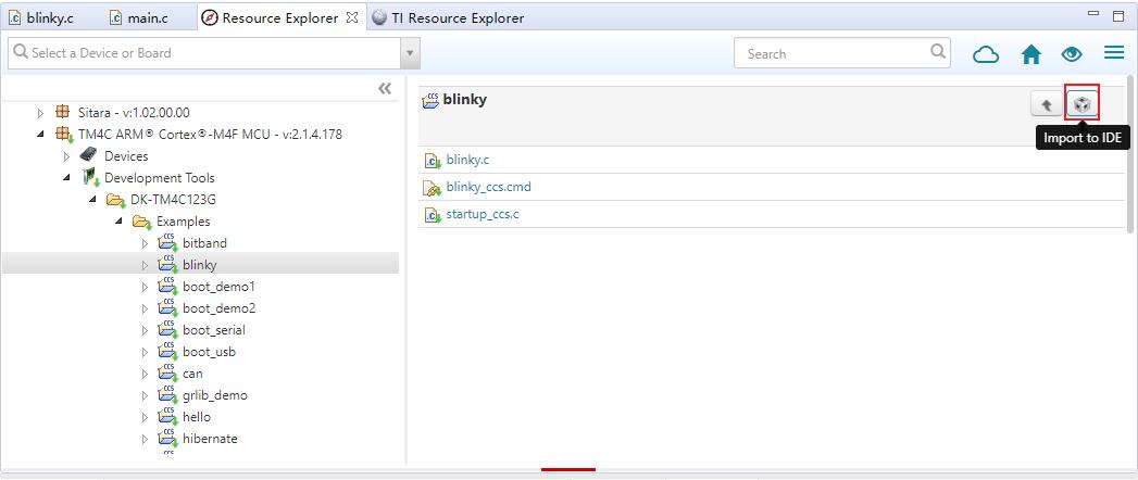 Ti Resource Explorer
